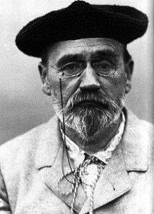 Emile ZOLA autoportrait 1902