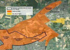 Zone de Blanchets - Portail sur Thorigné-Fouillard