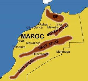 Carte maroc synthèse