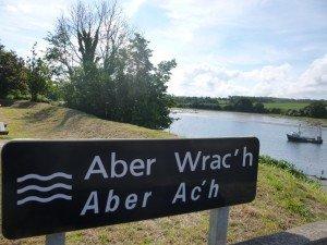 Aber Wrac'h plaque