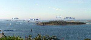 Landéda les îles de l'Aber