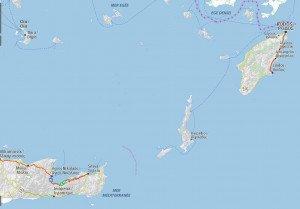 carte des îles du sud 01